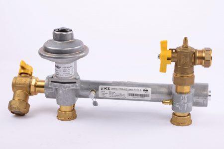 Gas- en watermeteraansluitingen